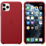 Apple Coque en cuir (PRODUCT)RED Apple iPhone 11 Pro Max