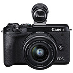 Canon EOS M6 Mark II Negro + 15-45mm + Visor