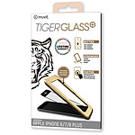 Tiger Glass Plus Tempered Glass Negro Apple iPhone 6 Plus/6s Plus/7 Plus/8 Plus