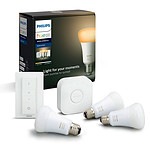 Philips Hue White Ambiance Kit de démarrage E27 Bluetooth