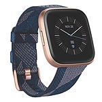 Fitbit Versa 2 Édition Spéciale Rose/Bleu Marine Tissé
