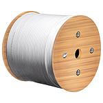 Goobay câble réseau catégorie 6a S/FTP (PiMF) 305 mètres (Gris)