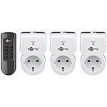 Goobay Starter Kit Radio Controlled Socket (3 prises)