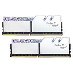 G.Skill Trident Z Royal 32 Go (2 x 16 Go) DDR4 4400 MHz CL17 - Argent