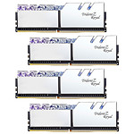 G.Skill Trident Z Royal 32 Go (4 x 8 Go) DDR4 4000 MHz CL15 - Argent