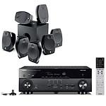 Yamaha MusicCast RX-A680 Noir + Focal Sib Evo 7.1.2 Dolby Atmos