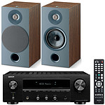 Denon DRA-800H Noir + Focal Chora 806 Dark Wood