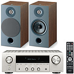 Denon DRA-800H Argent + Focal Chora 806 Dark Wood