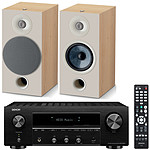 Denon DRA-800H Noir + Focal Chora 806 Light Wood