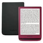 Vivlio Touch Lux 4 Rouge + Pack d'eBooks OFFERT + Housse Noire