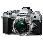 Olympus E-M5 Mark III Argent + 14-42 mm Argent