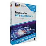 Bitdefender Internet Security 2019 Lifetime Edition - Licence à vie 1 poste