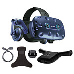 HTC Vive Pro Eye + Wireless Adaptator + Wireless Adaptator Clip