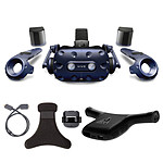 HTC Vive Pro Complete Edition + Wireless Adaptator + Wireless Adaptator Clip