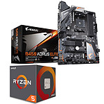 Kit Upgrade PC AMD Ryzen 5 2600 Gigabyte B450 AORUS ELITE