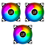 Xigmatek CX120 Galaxy Essential Pack de 3