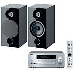 Yamaha MusicCast CRX-N470D Argent + Focal Chora 806 Noir