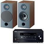 Yamaha MusicCast CRX-N470D Noir + Focal Chora 806 Dark Wood