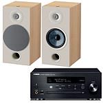 Yamaha MusicCast CRX-N470D Noir + Focal Chora 806 Light Wood