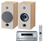 Yamaha MusicCast CRX-N470D Argent + Focal Chora 806 Light Wood