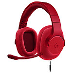 Logitech G433 7.1 Surround Sound Wired Gaming Headset Rouge