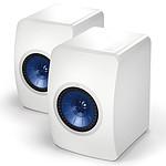 KEF LS50 Blanc brillant / Bleu