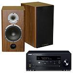 Yamaha MusicCast CRX-N470D Noir + Cabasse Antigua MT22 Noyer