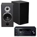 Yamaha MusicCast CRX-N470D Noir + Cabasse Antigua MT22 Noir Satin