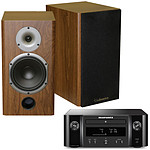 Marantz Melody X M-CR612 Noir + Cabasse Antigua MT22 Noyer