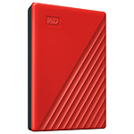 WD My Passport 2 To Rouge (USB 3.0)