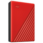 WD My Passport 4Tb Rojo (USB 3.0)