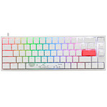 Ducky Channel One 2 SF RGB Blanc (Cherry MX RGB Silent Red)