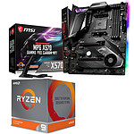 Kit Upgrade PC AMD Ryzen 9 3900X MSI MPG X570 GAMING PRO CARBON WIFI