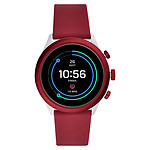 Fossil Sport 43 Smartwatch (43 mm / Silicona / Rojo)
