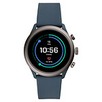 Fossil Sport 43 Smartwatch (43 mm / Silicone / Bleu Fumé)