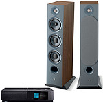 Naim Uniti Star + Focal Chora 826 Dark Wood