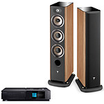 Naim Uniti Star + Focal Aria 926 Prime Walnut