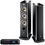 Naim Uniti Star + Focal Aria 926 Black High Gloss