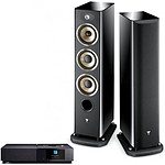 Naim Uniti Nova + Focal Aria 926 Black High Gloss