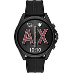 Armani Exchange Connected Gen.4 (46 mm / Silicone / Noir)