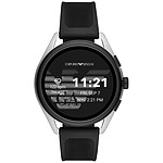 Emporio Armani Connected Smartwatch 3 Gen.5 (44.5 mm / Goma / Blanco y Negro)