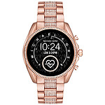 Michael Kors Access Bradshaw 2 Gen.5 (45 mm / Acier / Or, Rose et Strass)