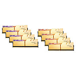 G.Skill Trident Z Royal 64 GB (8 x 8 GB) DDR4 3600 MHz CL14 - Oro