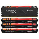 HyperX Fury RGB 64 Go (4x 16 Go) DDR4 3600 MHz CL17