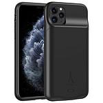 Akashi Coque Batterie Sans Fil Noire iPhone 11 Pro