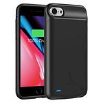 Akashi Coque Batterie Noire iPhone SE 2020 / 6 / 7 / 8