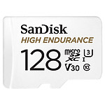 SanDisk High Endurance microSDHC UHS-I U3 V30 128GB + Adaptador SD