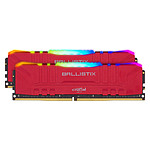 Ballistix Red RGB DDR4 32 GB (2 x 16 GB) 3600 MHz CL16