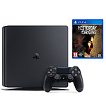 Sony PlayStation 4 Slim (500 Go) - Jet Black + Yesterday Origins OFFERT !