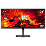 "Acer 34"" LED - Nitro XV340CKPbmiipphzx · Occasion"